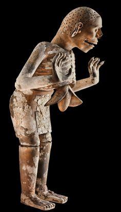 Tzitzimitl (Demon), Aztec, 1440-1469; found near the Templo Mayor, Mexico City