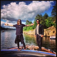 Jared and tomo😊