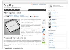 EasyBlog is the standard Blog software that comes in the Thalo Creative Ideal Install.