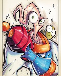 """64 Likes, 1 Comments - Geekcentre (@geekcentre) on Instagram: """"Earthworm Jim by RobDuenas on DeviantART #earthwormjim #game #gameart #awesome #cool #follow…"""""""