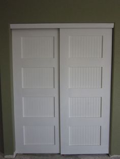 Bypass Closet Doors | Bypass Closet Doors | Do It Yourself Home Projects from Ana White pin now read later