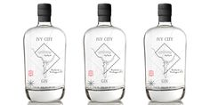 Ivy City Gin — The Dieline - Branding & Packaging