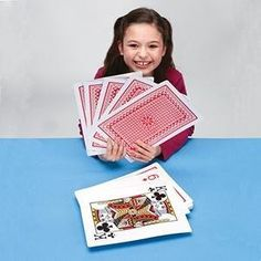 Playing Cards. Don't forget some of the easiest games are fun! War, Go Fish and Slap Jack! My preschool 4 loves these! And Uno.~J