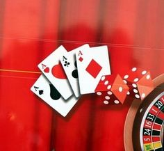 ideas for making your own table top decorations for a casino themed party - Casino Decorations