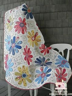 pretty flowers quilt