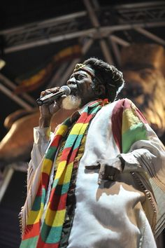 Kingston, Jamaica's own Bunny Wailer. One of the original members of The Wailers with Bob Marley and Peter Tosh. He won three Grammy Awards as a solo artist for Reggae himself.