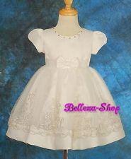 Ivory Wedding Flower Girl Pageant Dress SZ 3T-4T FG78