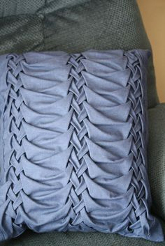 Canadian Smocking Pillow | Smocked pillow | Flickr - Photo Sharing!