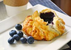 Blueberries are here – and besides tumbling them over my granola and oatmeal in the morning and into banana bread and muffins any time of day, I love making juicy blueberry galettes.