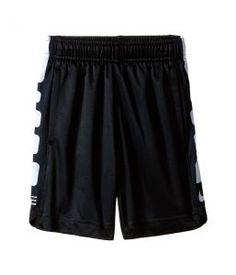 Nike Kids Elite Stripe Shorts (Toddler) (Black) Boy's Shorts