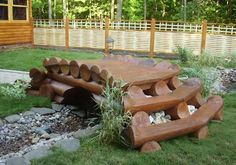 Tree Logs For Home Decorating, Unique Furniture And Yard Decorations
