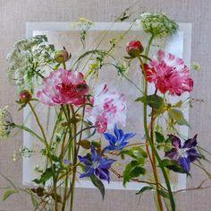 Huile de fleurs par Sylvie Fortin