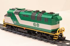 Lego GO Train F59PH Locomotive | Flickr - Photo Sharing!
