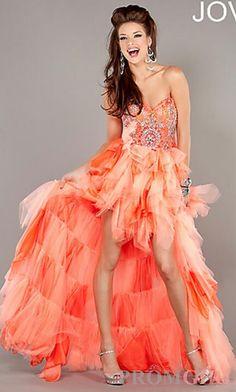 JO-1942 Jovani Coral Dress