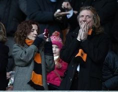 Robert and Patty January 2nd 2012, at Molineux Stadium, Wolverhampton where the Wolves lost to Chelsea 2-1.