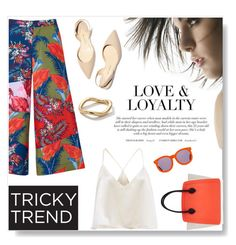 """""""Chic Culottes"""" by sarah-crotty ❤ liked on Polyvore featuring House of Holland, Paul Andrew, Ippolita, Furla, Karen Walker, TrickyTrend and culottes"""