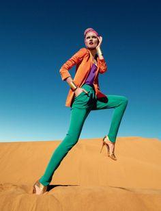 Desert Storm - Photographer: Luis Monteiro Publication: Tatler