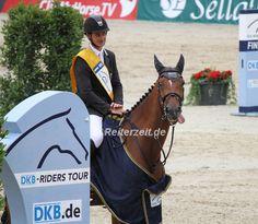 Steve Guerdat gewinnt die DBK-Riders Tour Etappe in Münster. Hier mehr: http://reiterzeit.de/muenster-2014-steve-guerdat-sieg-grosser-preis/