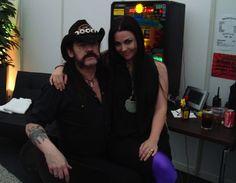 Lemmy Kilmister and amy lee