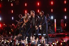 """Lady Antebellum performs """"Follow Your Arrow"""" at """"The 48th Annual CMA Awards,"""" live Wednesday, Nov. 5 at the Bridgestone Arena in Nashville and broadcast on the ABC Television Network. on CMA Awards  http://www.cmaworld.com/cma-awards/social-gallery/lady-antebellum-performs-follow-your-arrow-at-the-48th-annual-cma-awards-live-wednesday-nov-5-at-the-bridgestone-arena-in-nashville-and-broadcast-on-the-abc-television-network"""