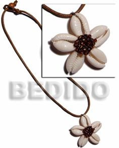 Cowry shell - most used in natural shell fashion jewellery.