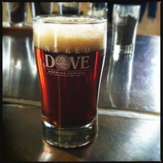 Naked Dove Brewing Company in Canandaigua, NY- FingerLakes area is famous for it's wine, but good beer here too!