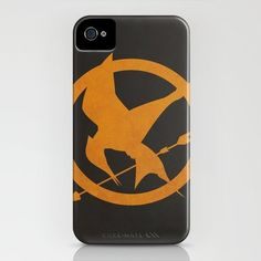 Mockingjay iPhone case. Lots of cool Hunger Games tech accessories in this article.