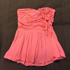 Cute strapless top . Rue 21 Tops
