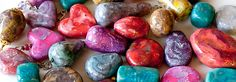 Polymer Clay: step-by-step Tutorial for making layered, stone-like Mokume Gane beads.