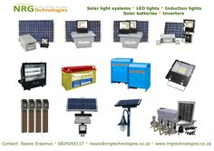 Solar lighting, LED lighting, Induction lighting, Inverters and Deep cycle batteries Solar Battery, Solar Lights, Lighting System, Deep, Technology, Products, Tech, Solar Lanterns, Tecnologia