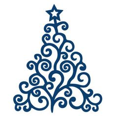 Tattered Lace Die Christmas Tree