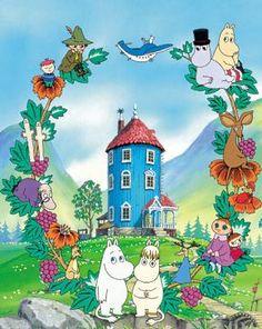Moomins! ( muminki ) Best cartoon ever!!!!
