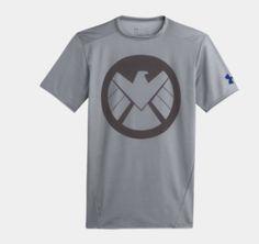 Mens' Under Armour® Alter Ego Compression Shirt - Agents of S.H.I.E.L.D.