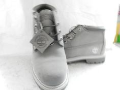 Timberland Women's Boots   size   8M    color  Penguin Gray