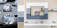 Adaugă strălucire livingului tău cu mobilierul potrivit! 💎 Living, Bathroom Lighting, Mirror, Furniture, Home Decor, Bathroom Light Fittings, Bathroom Vanity Lighting, Decoration Home, Room Decor
