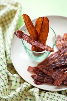 Eggplant Bacon - Vegan Bacon, 6 Ways - ChooseVeg.com