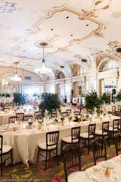 Venue: Fairmont Chateau Laurier Table Setting Inspiration | Beautiful Wedding Venues | Best Reception Ideas  #weddingspot #receptiondecor