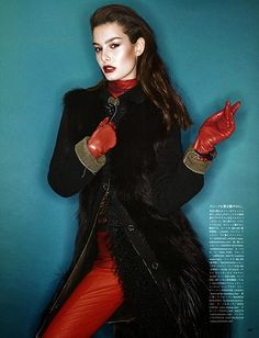 Ophelie Guillermand - Vogue Japan (Aug 14).  Photography: Sharif Hamza  Styling: Elin Svahn