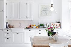 white kitchen. hemnet.se