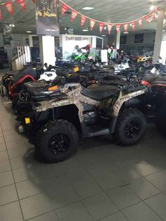 New 2016 Can-Am Outlander™ XT™ 570 ATVs For Sale in Louisiana. Expand your off-road capabilities with added features – and added value. Get equipped with Tri-Mode Dynamic Power Steering (DPS), a 3,000 pound winch, and heavy-duty front and rear bumpers. Operational: - Steering: Tri-Mode Dynamic Power Steering (DPS) - Shocks: Front / Rear: Oil