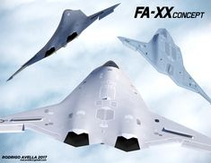 Concept for a US Navy's Next Generation Air Dominance.