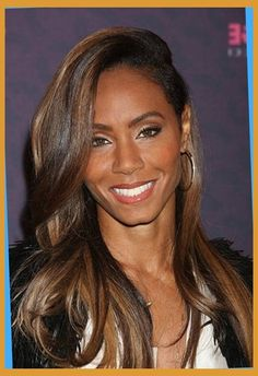 Chestnut Brown Hair Color On Black Women Hair