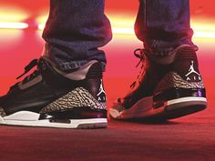 Nike Air Jordan 3 Retro Black Cement - 2011 (by kaze845)