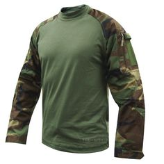 Tru-Spec TRU 50/50 Cordura Nylon Cotton Rip-Stop Combat Shirt