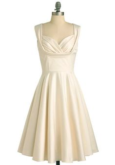 1950s inspired wedding dress - or reception dress!
