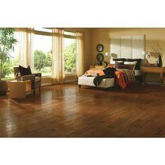 Bruce Hardwood - 5 Inch x 3/8 Inch AV Oak Fall Classic Engineered Handscraped Wood Floor  - (25 Sq.Ft./Case) - EAMV5FC - Home Depot (not good pc, but...)