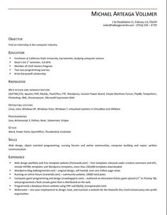 7 Best Resume Template Open Office images  Sample resume Best resume template Brochure template
