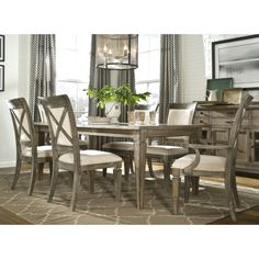 Found it at Wayfair - Brownstone Village 7 Piece Dining Set