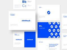 Altostack – Branding designed by Aga Jucha for Netguru. Connect with them on Dribbble; Corporate Stationary, Stationary Branding, Stationary Design, Corporate Brochure, Corporate Design, Corporate Identity, Branding Design, Logo Design, Graphic Design