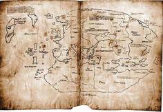 El mapa que incluye Vinlandia, circa AD 1000. Aún objeto de discusión si los vikingos llegaron entonces a América.
